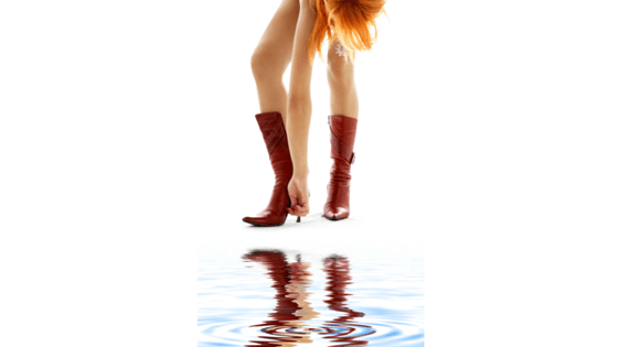 boot and water