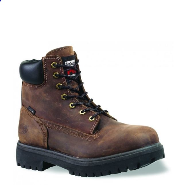Timberland PRO Mens Direct Attach Six Inch Soft Toe Boot