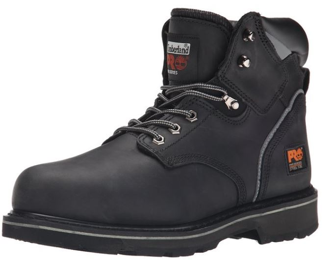 Timberland PRO Mens Pitboss 6 Steel Toe Boot