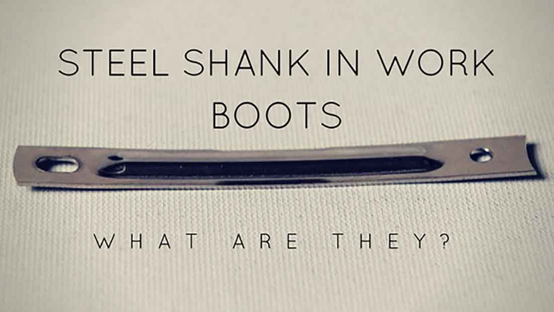 steel shank in work boots
