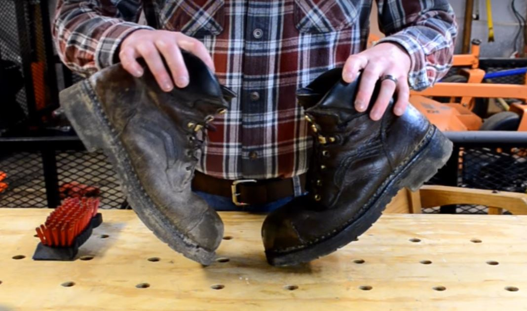 is saddle soap good for leather boots