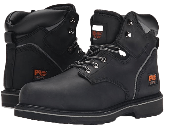"timberland pro pitboss 6"" steel toe boot review"