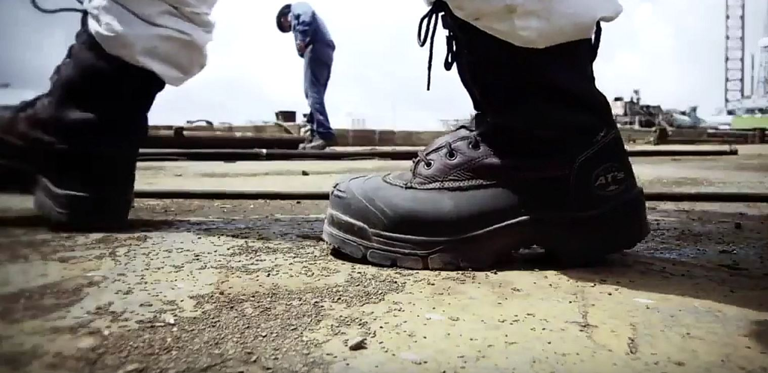 thick soles for boots working on concrete