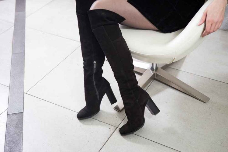 keep boots from slouching