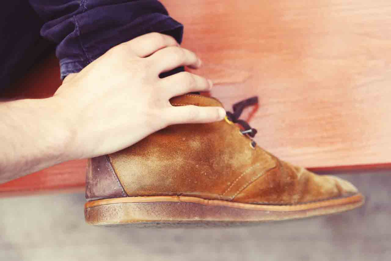 how to care clarks desert boots