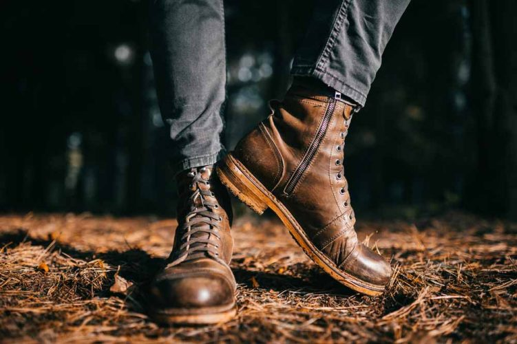 how to distress leather boots