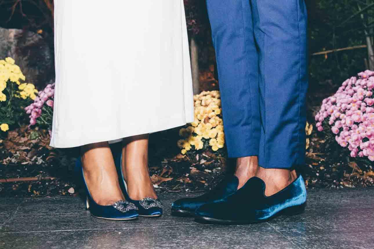 Clean Velvet Shoes