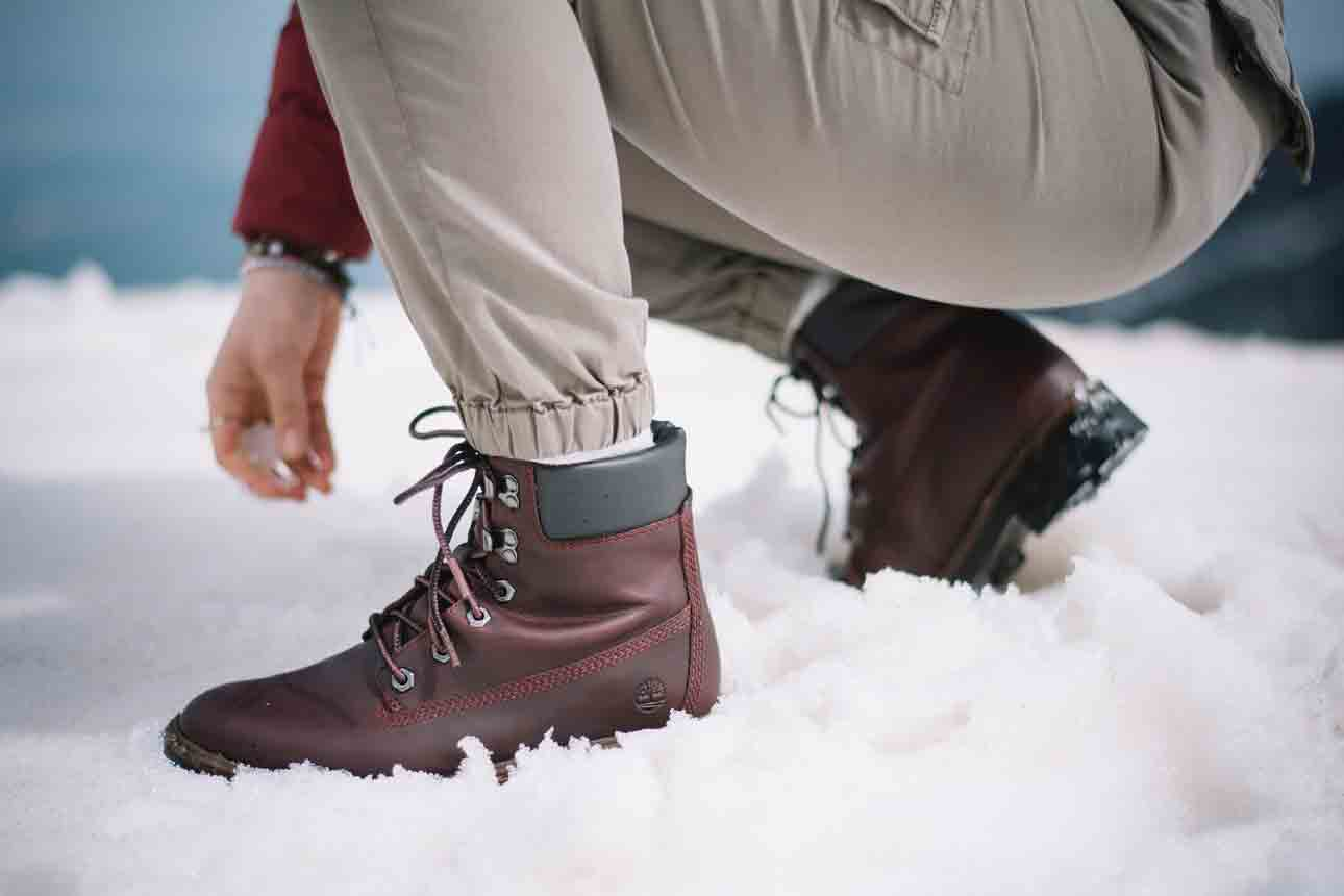 Are Timberlands Good for Snow walkers