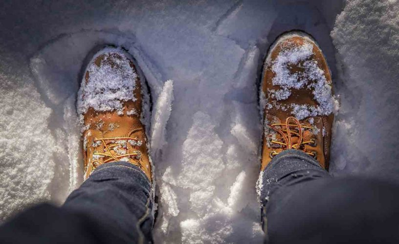 are timberlands good for snow