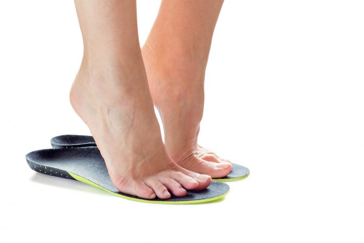 woman foot on Protalus Insoles