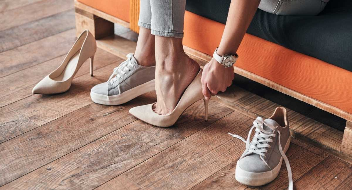 Difference between women's shoes